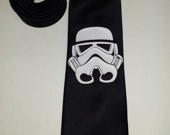 Star Wars Stormtrooper Mens NeckTie