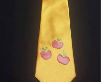 Apple Pony Mens Neck Tie