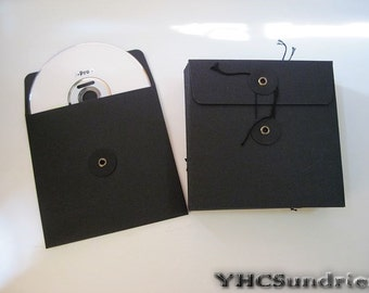 20pcs - Black paper CD DVD Envelope Sleeve (eye) *PS005A*