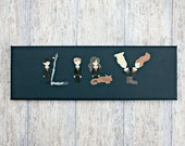 Harry Potter Character Canvas Name Personalised OOAK