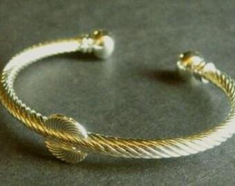 Adjustable Gold Cuff Bracelet