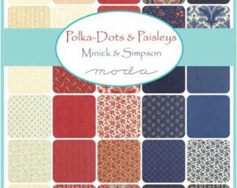 Polka Dots and Paisleys - Layer Cake