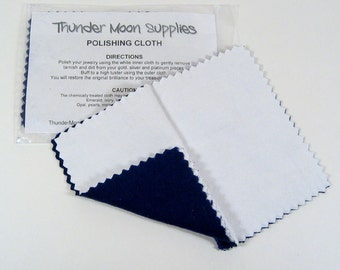 "100 Polishing Cloths - 3"" x 4"""