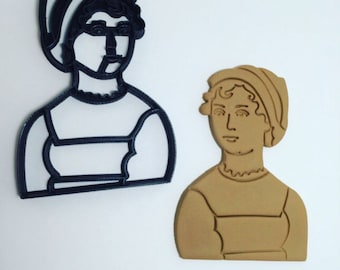 Jane Austen Cookie Cutter