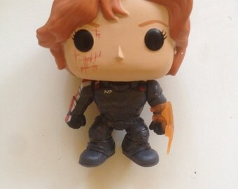 Custom Commander Shepard Pop Figure