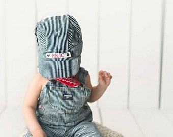 Toddler Gift, Toddler Boy Gift, Toddler Toys, Train Party, Train Hat, Custom Gift, Baby's First Birthday, Kids Birthday Hat, Boy Train Hat
