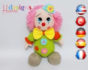PATTERN -  Mister  Clown
