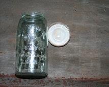 Mason Jar with Zinc Screw on Lid
