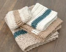 Crochet Pattern Crochet Dishcloth Pattern Crochet Washcloth Pattern Crochet Hand Towel Pattern Easy Dishcloth Pattern - Pathways P117