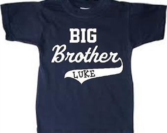personalized big brother shirt big brother tshirt birth announcement big brother t shirt big brother t-shirt