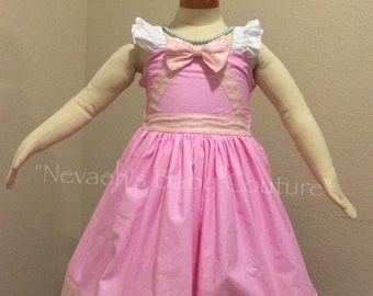 Cinderella Dress/Gown Child size mid length/Fairytale Gown/ Princess Gown