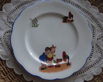 MABEL LUCIE ATTWELL, Royal Albert plate, Childrens plate, collectible, Mailed from Canada