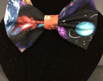 Galaxy Space Print Bow Tie