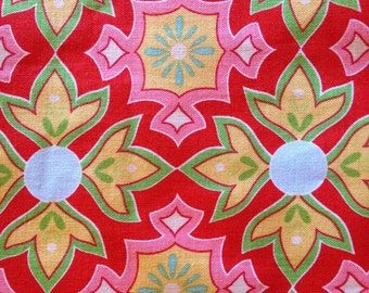DELIGHTED By The Quilted Fish - Fabric - Mosaic in Red - Riley Blake Designs - Quilting - Sewing - Home Decor - Tile Design