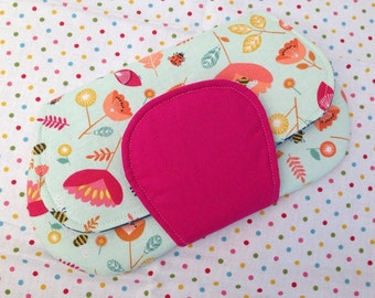 Felt, Cotton and Whimsy Mini Clutch Bag