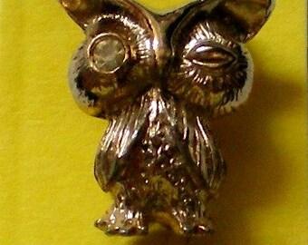 Wise Little Owl Stick / Lapel Pin - 4066