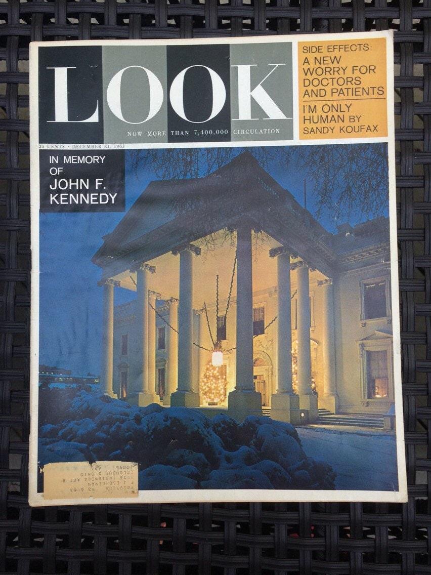 Look Vintage Magazine August 11, 1953
