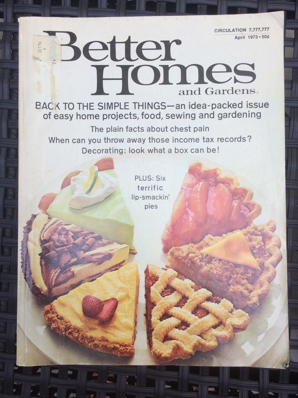 Vintage Better Homes And Gardens Magazine April 1973