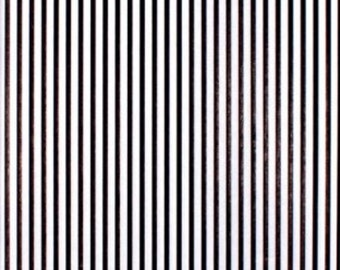 "Black White Stripes Lines Printed Tissue Paper Gift Wrap Wrapping (Pack of 5) 30x20"" - 750x500mm"