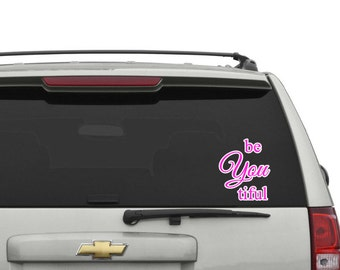 BeYouTiful Car Decal
