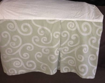 Pier One queen bed skirt