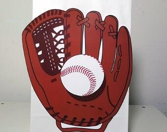 Baseball Goody Bags, Baseball Favor Bags, Baseball Gift Bags, Baseball Goodie Bags