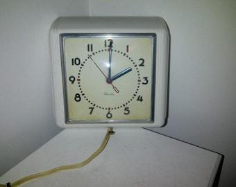 Vintage Westclox Wall Clock 50's