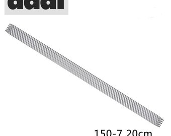 Addi 20 cm double pointd nickel-plated needle