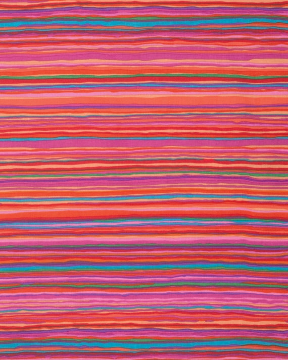 STRATA RED Fall 2015 Kaffe Fassett Sold in 1/2 yd increments