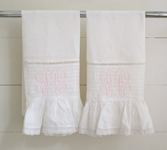 Cheap Guest Towels: Items Similar To Guest Hand Towels- Set Of 2 On Etsy