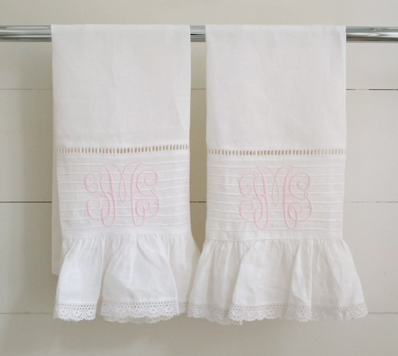Items Similar To Guest Hand Towels- Set Of 2 On Etsy