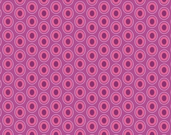 Crocus Oval Elements, Playing Pop Collection, Art Gallery Fabrics