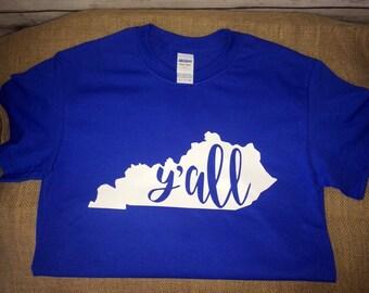 Kentucky State >>Y'all<< Tshirt