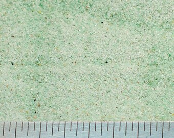Crushed Green Quartz Powder - 100% Natural Stone Without Fillers