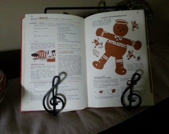 Music Lovers Cookbook Stand--or Here Comes Treble in the Kitchen!