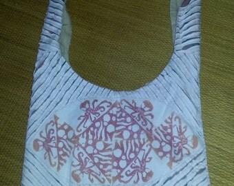 Octopus; Block Printed; Bag/Purse; Original Design