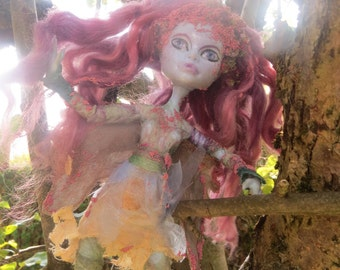 Restyled Monster High Art Doll 'Apple Tree Faerie'