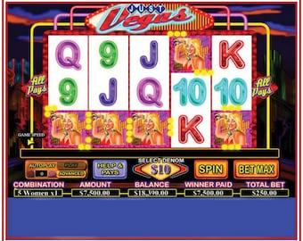 Slot Machine Topper Etsy