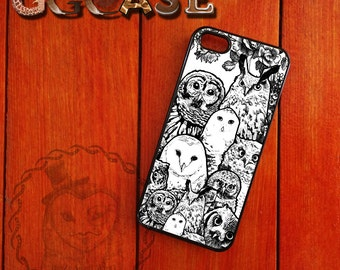 Owl iPhone Case for iPhone 4/4s iPhone 5/5s  and iPhone 6/6Puls