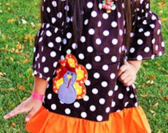 Polka Dot Thanksgiving Dress