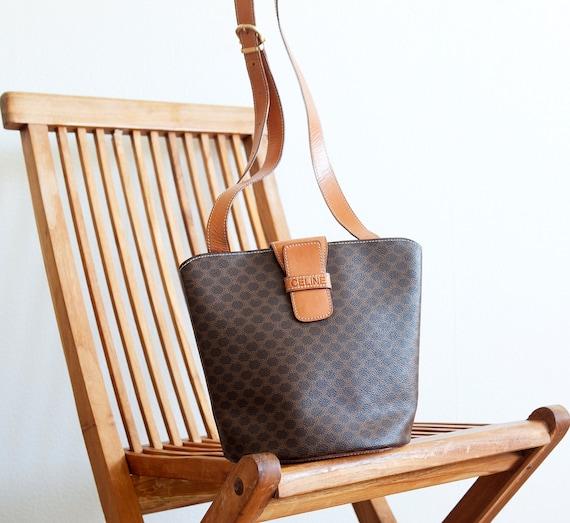 Vintage Celine Crossbody Bag / monogram bag / rare by BagsTalk