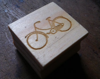 Laser Rubber Handmade Bicycle Stamp