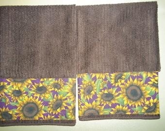 Sunflower Kitchen Hand Towel #2