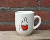 Vintage Cup Mug Miffy 1992 Dick Bruna,  Palmer Hotelware