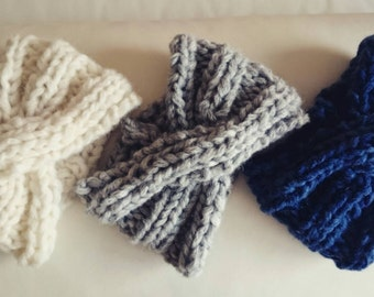 Super chunky headband,bow headband,hair accessories,ear warmers,head warmers,winter accessory,women accesories,winter clothing