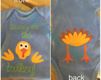 Bring on the Turkey- Thanksgiving shirt-