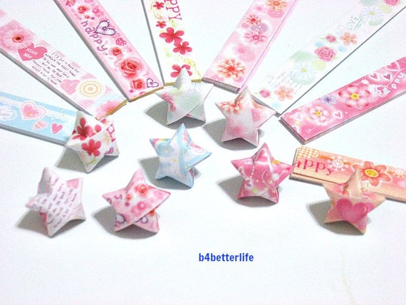 250 strips of diy origami lucky stars paper by b4betterlife for Diy lucky stars