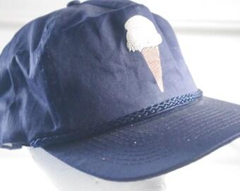 vintage ICE CREAM hat