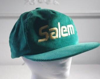 vintage corduroy Salem hat