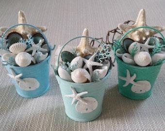 Beach Decor, Coastal Decor, Beach Wedding, Seashell Ornament, Nautical Decor, Beach Wedding Favors, Beach Wedding Cake Topper